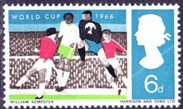 Großbritannien Great Britain Grande-Bretagne - Fußball-WM (MiNr: 423x) 1966 - Postfrisch MNH - 1952-.... (Elizabeth II)