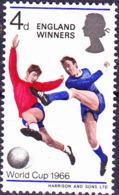 Großbritannien Great Britain Grande-Bretagne - Fußball-WM Sieger England (MiNr: 429x) 1966 - Postfrisch MNH - 1952-.... (Elizabeth II)