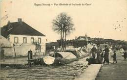 /!\ 7996- CPA/CPSM - 89 - Rogny : Abords Du Canal - Francia