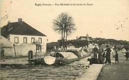 /!\ 7996- CPA/CPSM - 89 - Rogny : Abords Du Canal - Autres Communes
