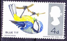 Großbritannien Great Britain Grande-Bretagne - Blaumeise (Parus Caeruleus) (MiNr: 426x) 1966 - Postfrisch MNH - 1952-.... (Elizabeth II)