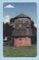 BELARUS / Phonecard / Phone Card / Beltelecom. Architecture Shchorsy. Novogrudok District. Smoke Tower 2005 - Belarus