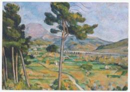 La Montagne Sainte-Victoire - Reproduction De Paul Cézanne (20694) - Sonstige Gemeinden