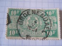 TR  162     GROENENDAEL   OBL CERCLE IRREGULIER - Chemins De Fer