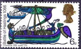 Großbritannien Great Britain Grande-Bretagne - Schlacht Von Hastings (MiNr: 440x) 1966 - Postfrisch MNH - 1952-.... (Elizabeth II)