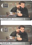 2 Télécartes Claude LELOUCH 50 Et 120 U 1992 - Frankrijk