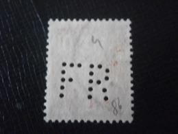 FRANCE TIMBRE SEMEUSE 138 FR86 PERFORE PERFORES PERFIN PERFINS PERFORATION PERFORIERT LOCHUNG PERFORATI PERCE PERFO - Perforés