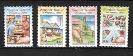 NORFOLK 609/612** SUR NOEL 1996 - Ile Norfolk