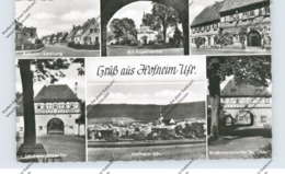 8729 HOFHEIM / Unterfranken, Siedlung, Apotheke, Tore...195... - Hassfurt