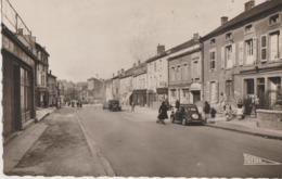 Joeuf  54  La Rue De Franchepré Tres Animée -Epicerie-Tabac Et Café-Voitures Et SIMCA 5 - Autres Communes