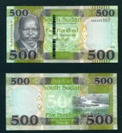 SOUTH SUDAN - 2018 500 Pounds UNC - Südsudan