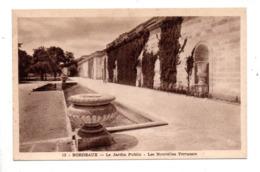 33 - BORDEAUX . LE JARDIN PUBLIC . LES NOUVELLES TERRASSES - Réf. N°9945 - - Bordeaux
