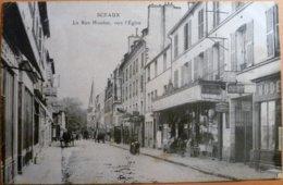 Sceaux- 92 - Rue Houdan, Vers L'Eglise - Sceaux