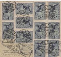DR INFLA 1922  PAKETKARTE  NOWANES  HENDAYE       PK83 - Germany