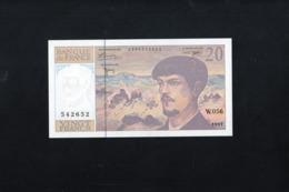 Rare 20 Francs DEBUSSY, W.056,1997,en état NEUF. - 1962-1997 ''Francs''