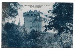 Cpa 78 Parc National De Rambouillet - La Tour François 1er Vue Du Vieux Pont - (Château) - Rambouillet (Château)