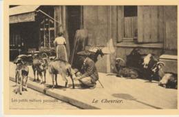 CP - LES PETITS MÉTIERS PARISIENS - LE CHEVRIER - - REPRODUCTION - 205 - CECODI - C'ÉTAIT LA FRANCE - Petits Métiers à Paris