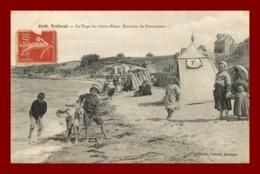 Tréboul * Plage Des Sables Blancs   ( Scan Recto Et Verso ) - Tréboul