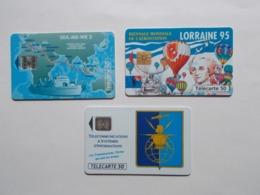 Lot 3 Télécartes FRANCE (TC 11/12) - France