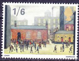 Großbritannien Great Britain Grande-Bretagne - Kinder Kommen Aus Schule Von L. Lowry (MiNr: 468) 1967 - Postfrisch MNH - 1952-.... (Elizabeth II)