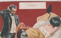 Art Nouveau --La Paresse. - Ilustradores & Fotógrafos