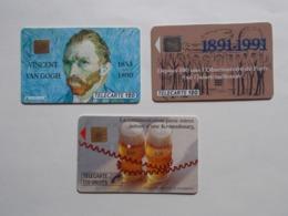 Lot 3 Télécartes FRANCE (TC 23/24) - Sin Clasificación