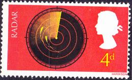 Großbritannien Great Britain Grande-Bretagne - Radarschirm (MiNr: 470) 1967 - Postfrisch MNH - 1952-.... (Elizabeth II)