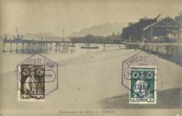 Timor-Leste, DILLY DILI, Ponte-Caes, Bridge (1927) Geisler RPPC Postcard - East Timor