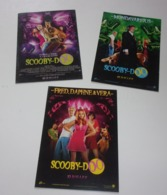 Lot De 3 Cartes Scooby-Doo - Merchandising