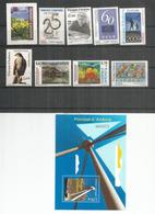 Année Complète 2009. 9 Timbres + Bloc-feuillet Pont De Madrid Neufs ** Haute Faciale  Oiseau Epervier. Côte 37,50 Euro - Nuovi
