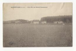 25 BONNETAGE - Côté Est Du Grand Communal - Cpa Doubs - Otros Municipios