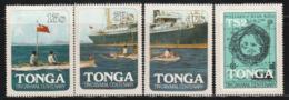 TONGA - N°511/4 **(1982) - Tonga (1970-...)