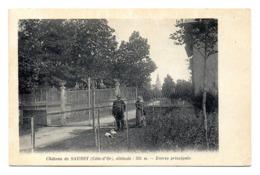 Chateau De Saussy Entree Principale - France