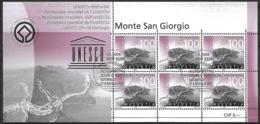 Schweiz Suisse 2004: UNESCO Welterbe MONTE SAN GIORGIO Zu 1137 Mi 1894 Yv 1810 O BERN 7.9.2003 (Zu CHF 22.00) - Fossils