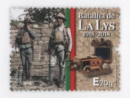 PORTUGAL WWI WORLD WAR I GUERRE FRANCE LA LYS BATTLE  PORTUGUESE HISTORY ARMY SOLDIER - 1910-... République