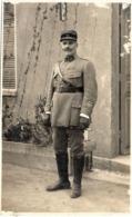 Carte Photo Non Localisée -  Officier - Photo Lumo A Ferryville   (117199) - Personnages