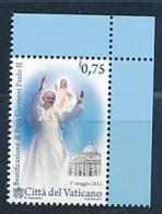 VATIKAN Mi. Nr. 1699 Seligsprechung Von Papst Johannes Paul II - MNH - Vatikanstadt