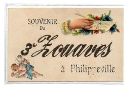 Souvenir Du 3 Eme Zouaves A Philippeville - Algérie