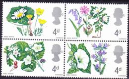 Großbritannien Great Britain Grande-Bretagne - Wildwachsende Blumen (MiNr: 446/9 Y) 1967 - Postfrisch MNH - 1952-.... (Elizabeth II)