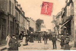 03. CPA. MARCILLAT. Grande-rue.  1906. - Andere Gemeenten