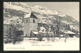 AK Ormonts-dessus, Vers L`Eglise, Kirche - VD Vaud