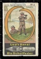 Old Poster Stamp Cinderella Reklamemarke Erinnofili Vignette Scout Erkunden Kid Kind Feldwache. - Erinnofilia
