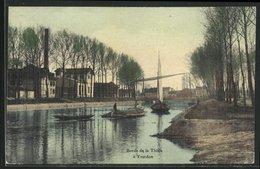 AK Yverdon, Bords De La Thiele, Segelboote - VD Vaud