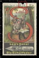 Old Poster Stamp Cinderella Reklamemarke Erinnofili Vignette Scout Erkunden Kid Kind Patrouille Patrol. - Erinnofilia