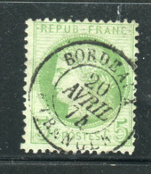 Rare N° 53 Cachet à Date De Bordeaux Etranger ( 1874 ) - 1871-1875 Cérès