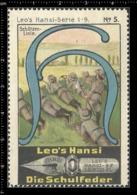 Old Poster Stamp Cinderella Reklamemarke Erinnofili Vignette Scout Erkunden Kid Kind Schutzen Linie. - Cinderellas