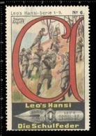 Old Poster Stamp Cinderella Reklamemarke Erinnofili Vignette Scout Erkunden Kid Kind Sturm-Angriff Storm Attack. - Cinderellas