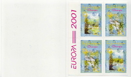 Georgia MNH Booklet - 2001