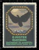 Old Poster Stamp Cinderella Reklamemarke Erinnofili Vignette E.Nister Nürnberg Nuremberg. - Vignetten (Erinnophilie)