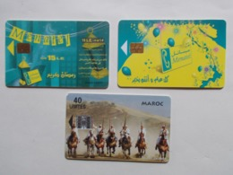 Lot 3 Télécartes MAROC (TC 85/86) - Maroc